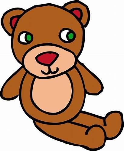 Teddy Bear Clipart Toy Brown Clip Bears
