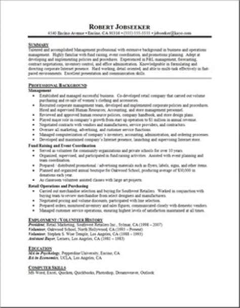 listing contact information executive classic resume writing