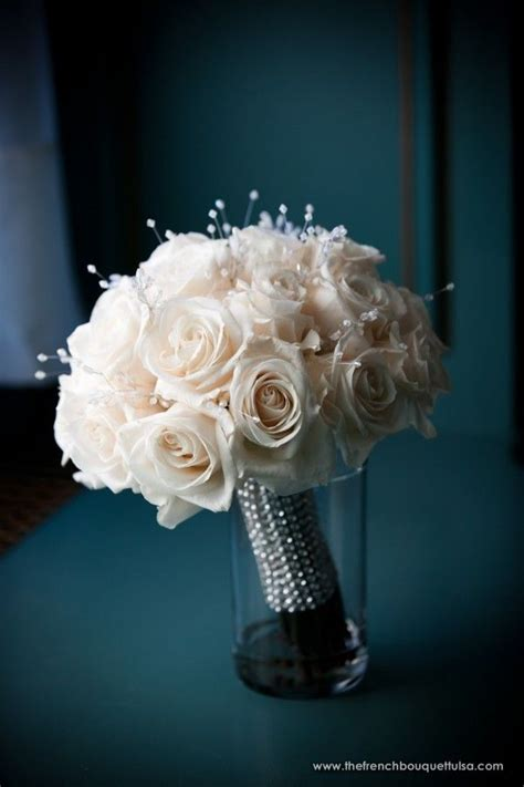 1000 Images About Wedding Bouquet Bling On Pinterest