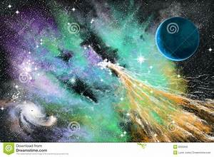 Blue Nebula Stock Photography - Image: 9255942