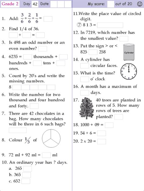 mental math grade 2 day 42 mental math mental maths