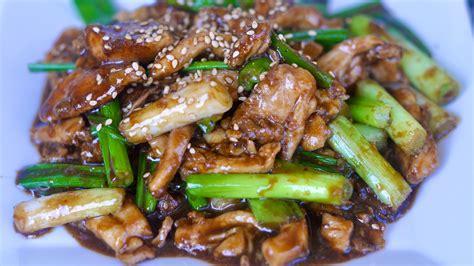 mongolian chicken mongolian chicken recipe youtube