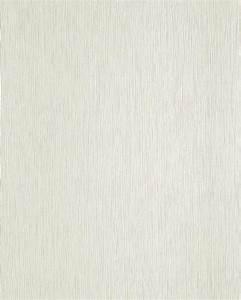 Papel pintado con textura a rayas y efecto perla EDEM 118 20 en blanco champagne perlado