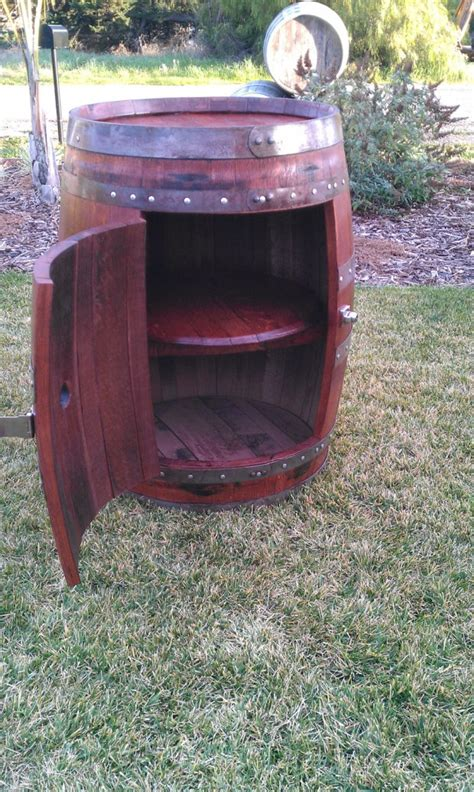 cool diy projects  recycled wine barrel wood style motivation
