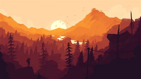 Firewatch 2016 Game Wallpapers