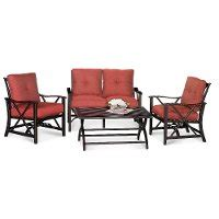 rc willey patio furniture haywood 4 patio seating set rc willey furniture
