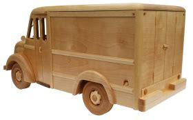milk truck wooden toy pattern