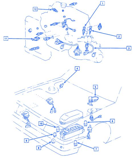 Chevrolet Nova Engine Electrical Circuit Wiring