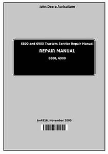 John Deere 6800 6900 Tractor Pdf Manual Wiring Diagram