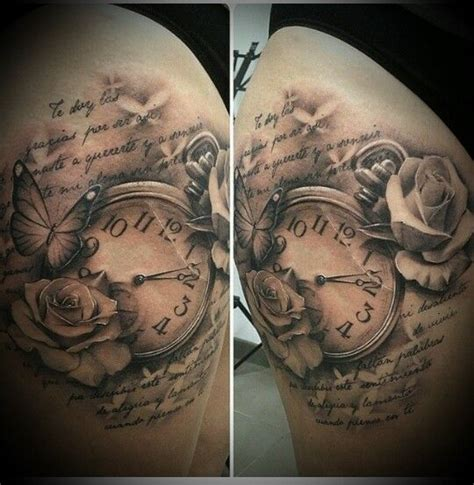 Interessante Ideenunterarm Tattooidee Frau Mit Regenschirm by 178 Besten Uhren Tattoos Bilder Auf Piercings