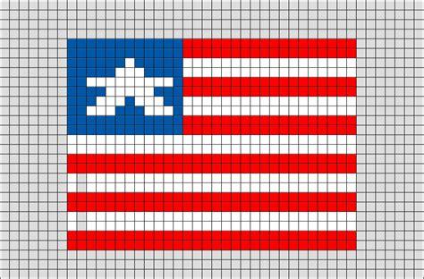 flag of liberia pixel brik pixel designs pixel