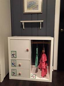 Kleiderschrank Kinder Ikea : ikea kallax muebles pinterest kinderzimmer kinderzimmer m bel und garderobe kinder ~ Markanthonyermac.com Haus und Dekorationen