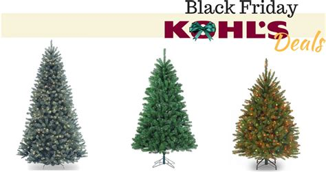 Artificial Christmas Tree Deals From Kohl's  Southern Savers