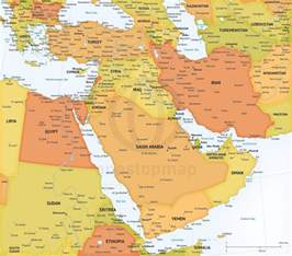 Middle East Political Map Related Keywords & Suggestions ...