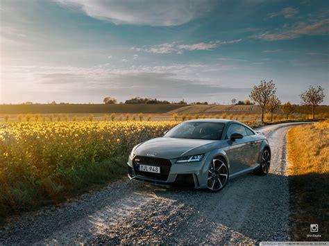 Audi TT RS 2017 4K HD Desktop Wallpaper For 4K Ultra HD TV