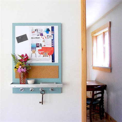 kitchen message board organizer abode modern message center magnetic from pigandfish on etsy 5404