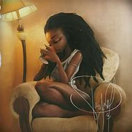 Beautiful African American Woman Cartoon