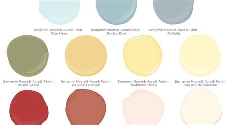 color outside the lines pottery barn paint colors spring summer 2011