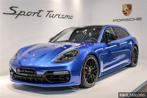 The panamera turbo comes in two flavors, and the more powerful one is a hybrid. Porsche Panamera Sport Turismo previewed in M'sia - 4, 4 E-Hybrid and Turbo models, launch in 2018
