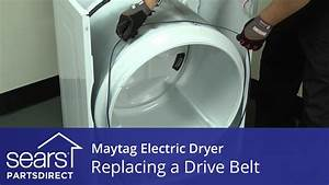 How To Replace A Maytag Electric Dryer Drive Belt