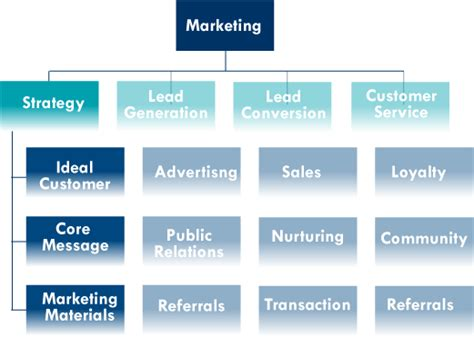 marketing organization chart  closer   strategy