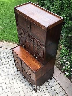 antique stacking barrister file cabinet globe wernicke