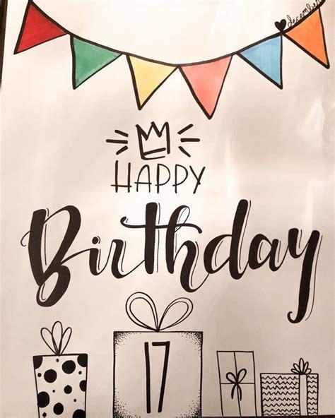 happy birthday poster birthdaygiftsforboyfrienddiy