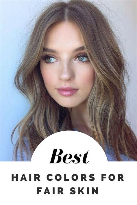 hair colors  fair skin  examples