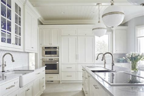 Clean And Bright 10 White Kitchens We Love  The Scout Guide