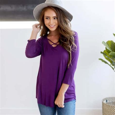 Deal Dash   Jane   Tops, French terry top, Fashion