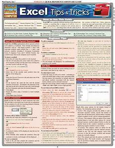 Excel Tips  U0026 Tricks Laminated Reference Guide  U2013 The