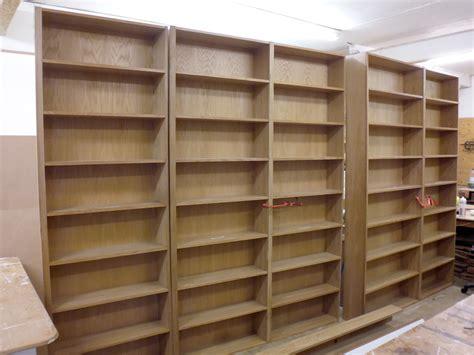 second bookshelves oak bookshelves richard sothcott brighton carpentry