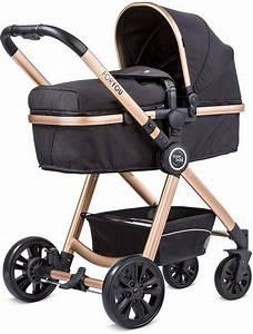 Kinderwagen Für Babys : knorr baby kombi kinderwagen for you schwarz mit gestell in gold online kaufen otto ~ Eleganceandgraceweddings.com Haus und Dekorationen