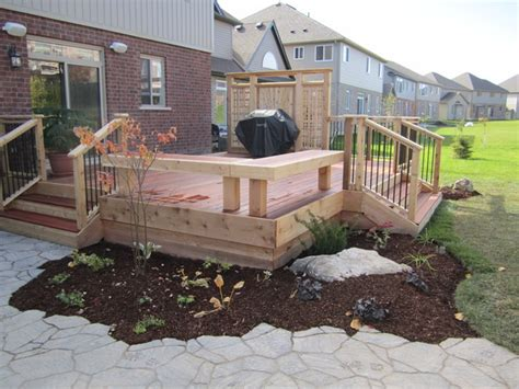 garden decks traditional patio toronto by jws
