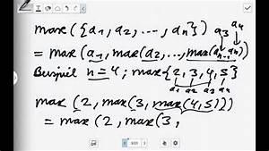Maximum Und Minimum Berechnen : das maximum und minimum einer menge analysis youtube ~ Themetempest.com Abrechnung