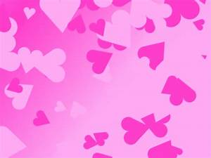 Pink Love Heart Backgrounds