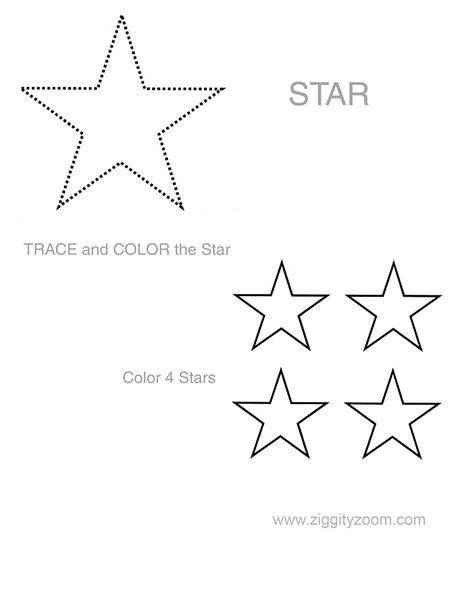 5 Best Images Of Printable Preschool Star Worksheets  Stars Preschool Cutting Worksheet, Star