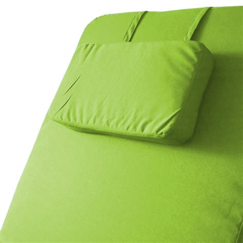lime water resistant outdoor cushion pad for garden
