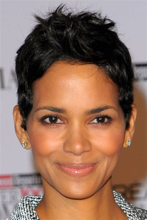 halle berry short pixie haircut  women   hairstyles weekly
