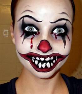 Best 25+ Scary clown face ideas on Pinterest | Freaky ...