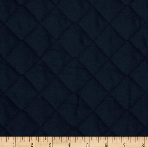 sided quilted fabric sided quilted broadcloth navy designer