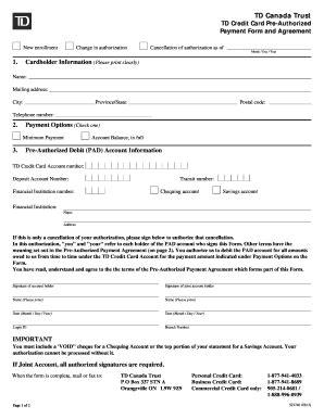 form canada td  fill  printable