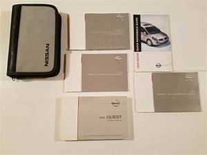 2004 Nissan Quest Owner U0026 39 S Manual Guide