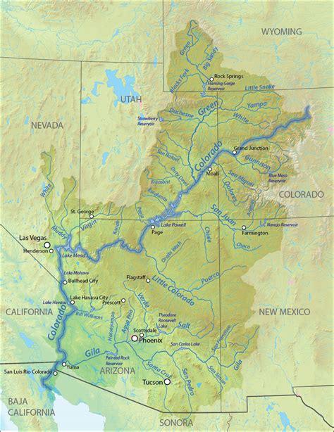 list  tributaries   colorado river wikipedia