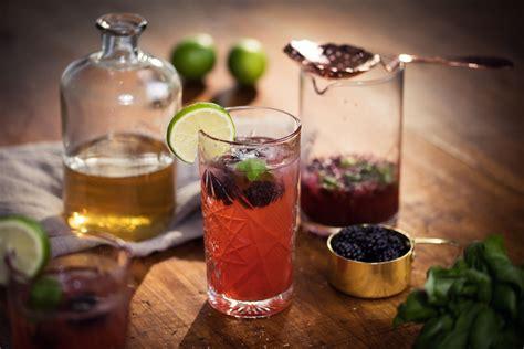 Mocktail Basilikumbrombeermojito By Juice Plus