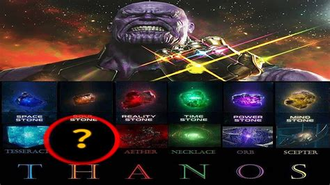 Finally The Answer To The Thanos Theory (soul Gem