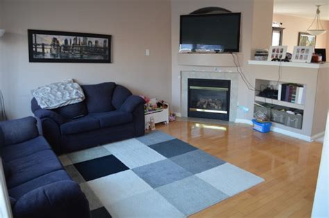 sectional in a small living redecorating family room furniture size placement