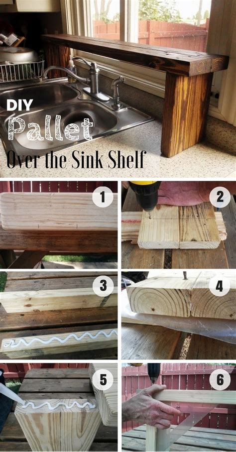 Red Over The Sink Shelf by Best 20 Sink Shelf Ideas On Pinterest Over The Kitchen