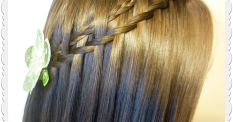 Micro Woven Waterfall Twist Braid Tutorial