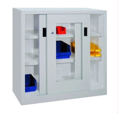 schiebetürenschrank 100 cm stahl schiebet 252 renschrank mit sichtfenstert 252 ren 100 cm hoch